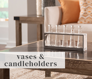 Vases & Candleholders