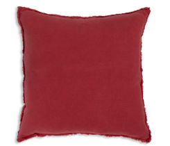 Rouge Fringed Pillow