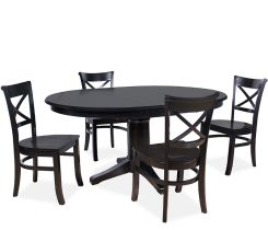 Brentwood 5-piece Dining Set - Black