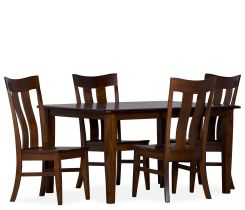 Arlington 5 Piece Dining Set w/ Double Panel Side Chairs