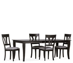 Astoria 5 Piece Dining Set w/ Wood Side Chairs