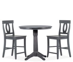 Cayman 3 Piece Counter Height Dining Set