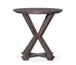 Maynard Round End Table
