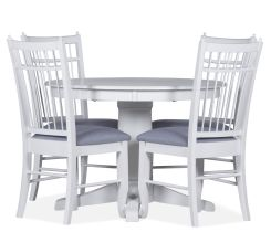 "Mystic 5 Piece Dining Set with 48"" Round Dining Table"