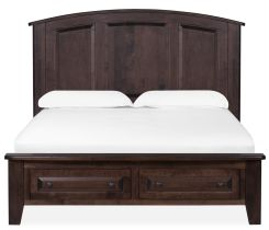 Trenton King Arched Storage Bed