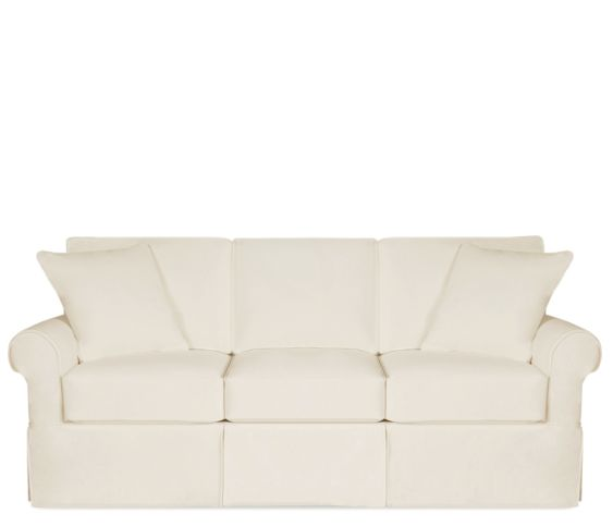 Fairbanks Slipcover Sofa with Down Blend Cushions