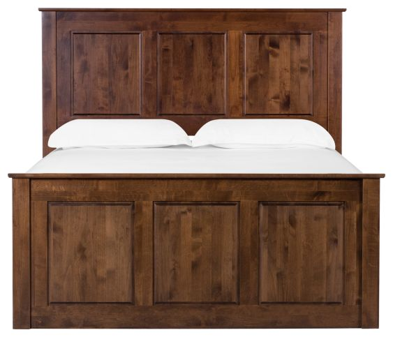 Chelsea Queen Storage Bed - Tuscan Brown