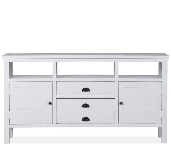 "Walker 50"" TV Console - Weathered White"