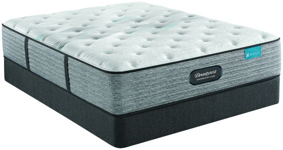 Beautyrest Harmony Lux Carbon Medium Queen Mattress and Standard Foundation Set