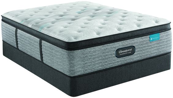 Beautyrest Harmony Lux Carbon Medium Pillowtop King Mattress and Standard Foundation Set