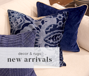 new arrivals in decor and accessories